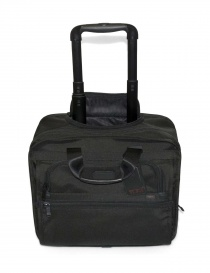 Wheeled compact pc brief Tumi