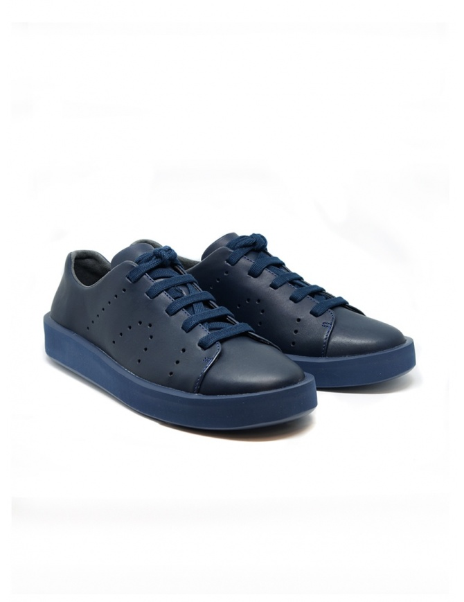 Camper Courb pierced navy sneaker (man) K100432-005 COURB AZUL mens shoes online shopping