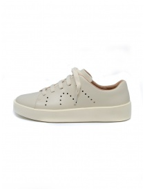Camper Courb pierced beige sneakers (woman)
