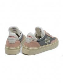 BePositive Roxy pink suede sneaker price