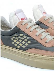 BePositive Roxy pink suede sneaker womens shoes buy online