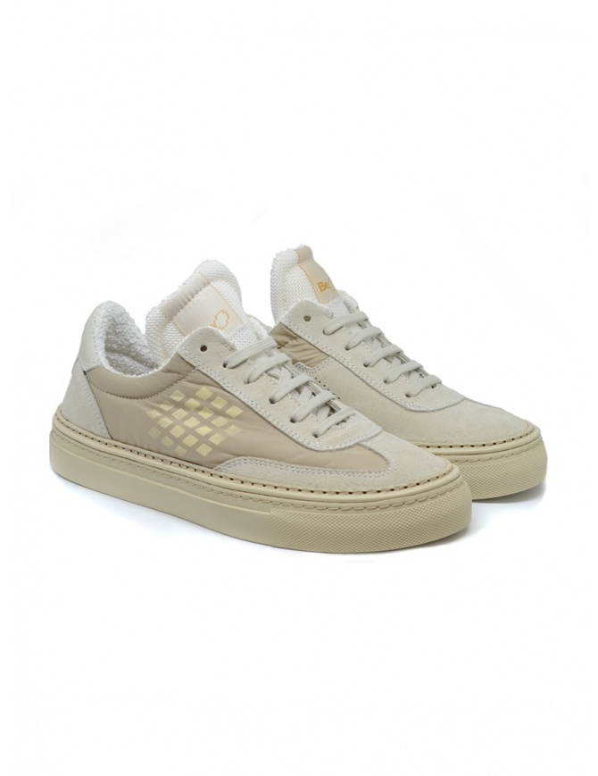 BePositive Roxy beige suede sneaker 9SWOARIA14/NYL/BEI womens shoes online shopping