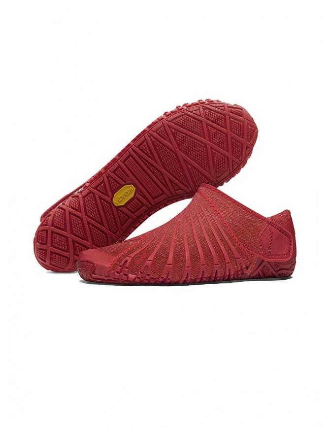 Scarpa rossa Riot da donna Vibram Furoshiki 19WAD10 FUROSHIKI RIOT RED calzature donna online shopping