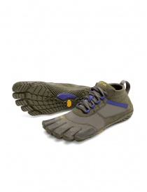 Womens shoes online: Vibram Fivefingers women's army green purple shoes V-TREK