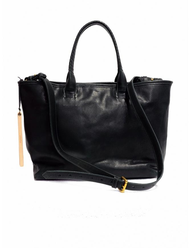 Borsa Cornelian Taurus by Daisuke Iwanaga in pelle di manzo nera CO18FWCO010 BLACK borse online shopping