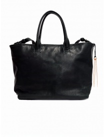 Cornelian Taurus by Daisuke Iwanaga black cow leather bag
