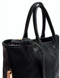 Borsa Cornelian Taurus by Daisuke Iwanaga in pelle di manzo nera borse acquista online