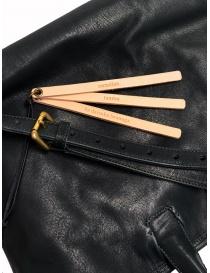 Borsa Cornelian Taurus by Daisuke Iwanaga in pelle di manzo nera acquista online prezzo