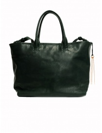 Cornelian Taurus by Daisuke Iwanaga green cow leather bag