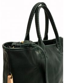 Borsa Cornelian Taurus by Daisuke Iwanaga in pelle di manzo verde borse acquista online