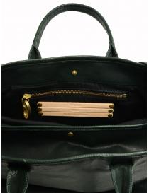 Borsa Cornelian Taurus by Daisuke Iwanaga in pelle di manzo verde borse prezzo