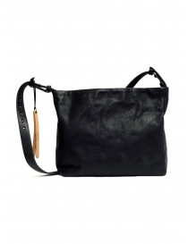 Cornelian Taurus black rectangular leather bag
