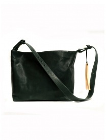 Bags online: Cornelian Taurus green rectangular leather bag