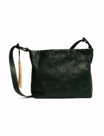 Cornelian Taurus green rectangular leather bag
