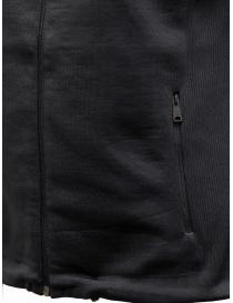 Ze-Knit by Napapijri Ze-K129 hooded sleeveless black sweatshirt womens knitwear buy online