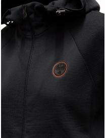 Ze-Knit by Napapijri Ze-K129 hooded sleeveless black sweatshirt price