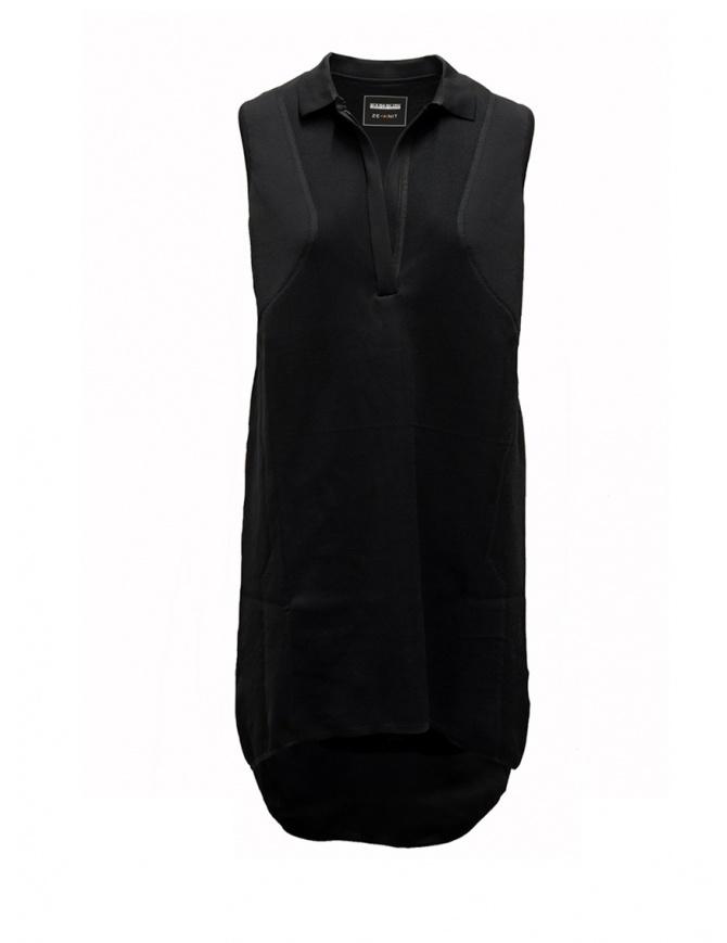 Abito polo Ze-K222 Ze-Knit by Napapijri nero N0YIOG041 ZE-K222 BLACK abiti donna online shopping