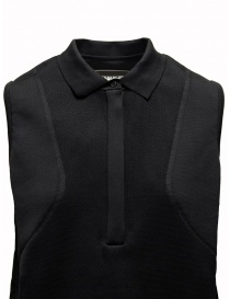 Ze-Knit by Napapijri black polo dress Ze-K222 price