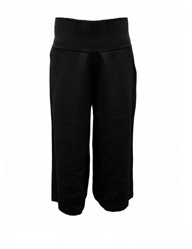 Ze-Knit by Napapijri black short sweat pants Ze-K224 N0YIOI041 ZE-K224 BLACK womens trousers online shopping
