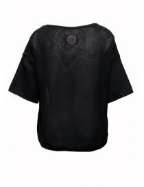 Ze-Knit by Napapijri black mesh T-shirt Ze-K228