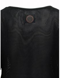 Maglia Ze-K228 nera a rete Ze-Knit by Napapijri t shirt donna acquista online