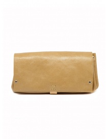 Delle Cose beige calf leather wallet 81 BABYCALF VARN. BEIGE