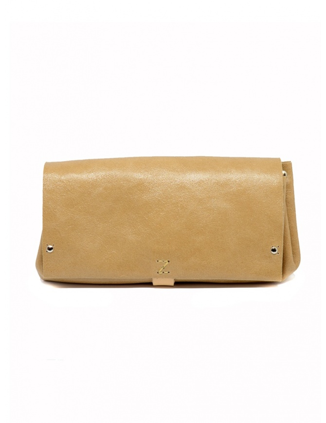 Delle Cose beige calf leather wallet 81 BABYCALF VARN. BEIGE wallets online shopping