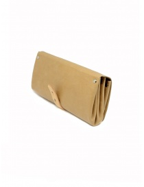 Delle Cose beige calf leather wallet price