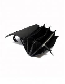 Delle Cose black calf leather wallet wallets buy online