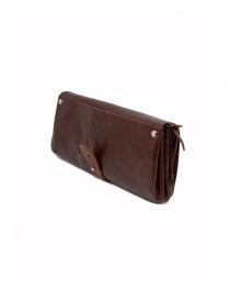 Delle Cose bordeaux calf leather wallet price