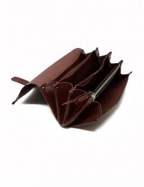 Delle Cose bordeaux calf leather wallet wallets buy online