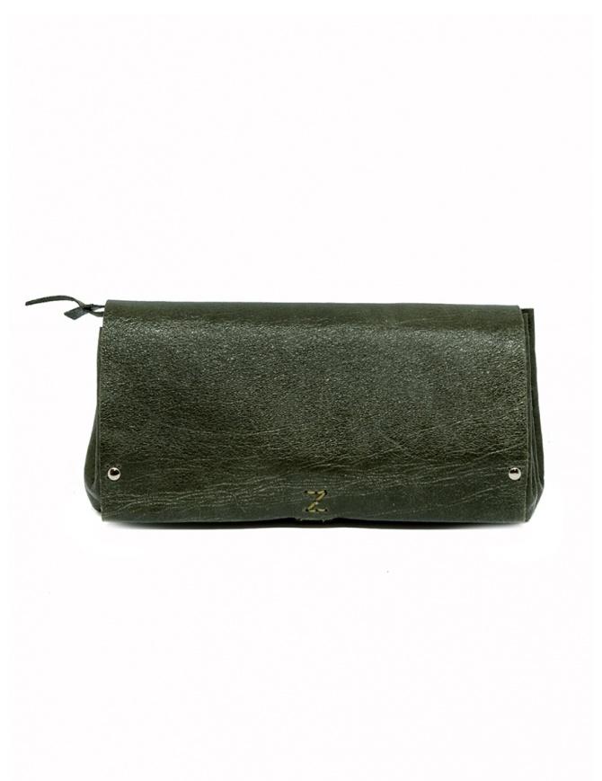 Delle Cose khaki calf leather wallet 81 BABYCALF VARN. KHAKI wallets online shopping