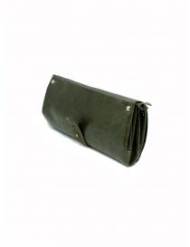 Delle Cose khaki calf leather wallet price