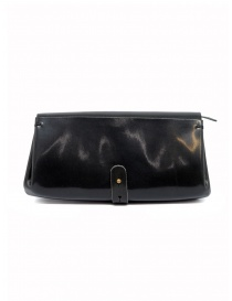 Delle Cose black polished horse leather wallet price