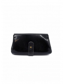 Delle Cose black polished horse leather small wallet