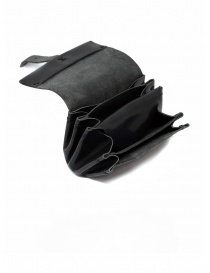 Delle Cose black polished horse leather small wallet price