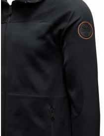 Ze-Knit by Napapijri Ze-K129 hooded black sweatshirt price