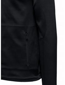 Ze-Knit by Napapijri Ze-K129 hooded black sweatshirt mens knitwear buy online
