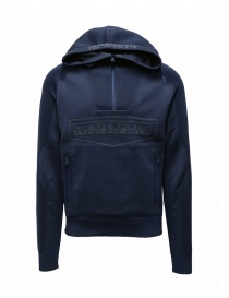 Ze-Knit by Napapijri Rainforest Ze-K128 blue sweatshirt N0YIOP176 ZE-K128 BLUE order online