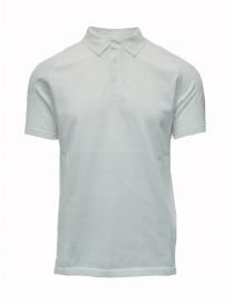 Maglietta polo Ze-K123 bianca Ze-Knit by Napapijri online
