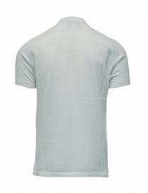 Maglietta polo Ze-K123 bianca Ze-Knit by Napapijri prezzo
