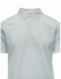 Maglietta polo Ze-K123 bianca Ze-Knit by Napapijri t shirt uomo acquista online