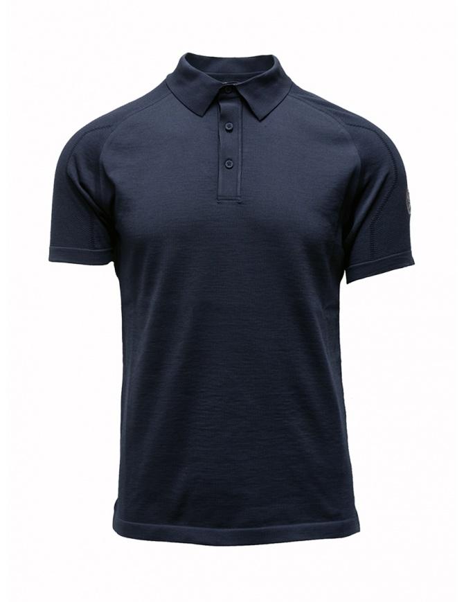 Polo Ze-K123 blu Ze-Knit by Napapijri N0YIOS176 ZE-K123 BLUE t shirt uomo online shopping