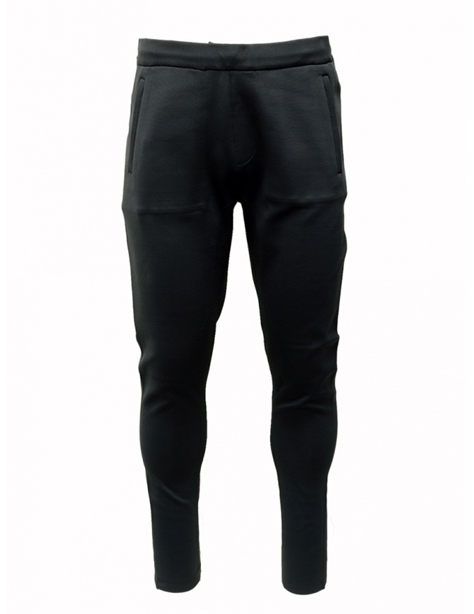 Ze-Knit by Napapijri black sweatpants Ze-K126 N0YIOU041 ZE-K126 BLACK mens trousers online shopping