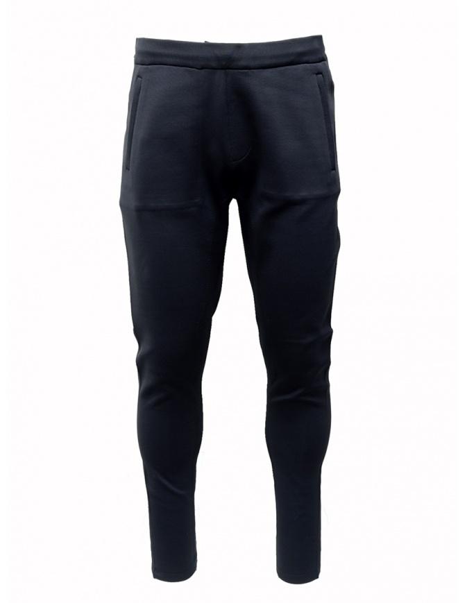 Ze-Knit by Napapijri blue sweatpants Ze-K126 N0YIOU176 ZE-K126 BLUE mens trousers online shopping