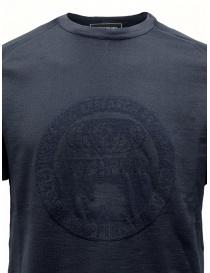 T-shirt Ze-K124 blu da uomo Ze-Knit by Napapijri