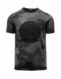 T-shirt Ze-K124 mimetico nero grigio Ze-Knit by Napapijri N0YIOVM07 ZE-K124 MULTICOLOR order online
