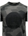 Ze-Knit by Napapijri black and grey camouflage T-shirt Ze-K124 N0YIOVM07 ZE-K124 MULTICOLOR price