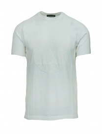 Mens t shirts online: Ze-Knit by Napapijri white T-shirt Ze-K124