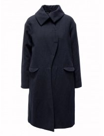 Womens coats online: Sara Lanzi blue wave coat
